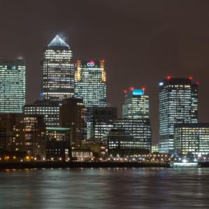 Canary-Wharf-night